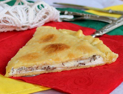 TORTA RUSTICA AI PORCINI CREMOSA ricetta veloce