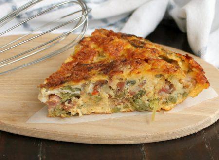 FRITTATA DI PASQUA ricetta con asparagi