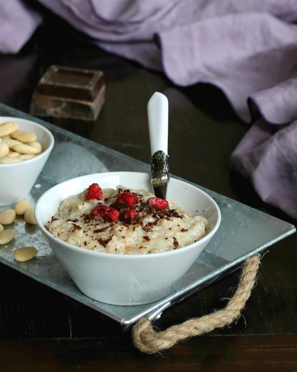 PORRIDGE ricetta colazione light anti fame e perdi peso