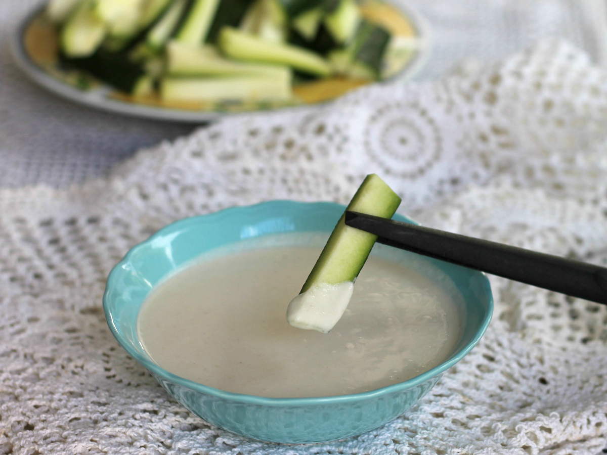 PASTELLA SENZA UOVA per verdure croccanti ricetta base