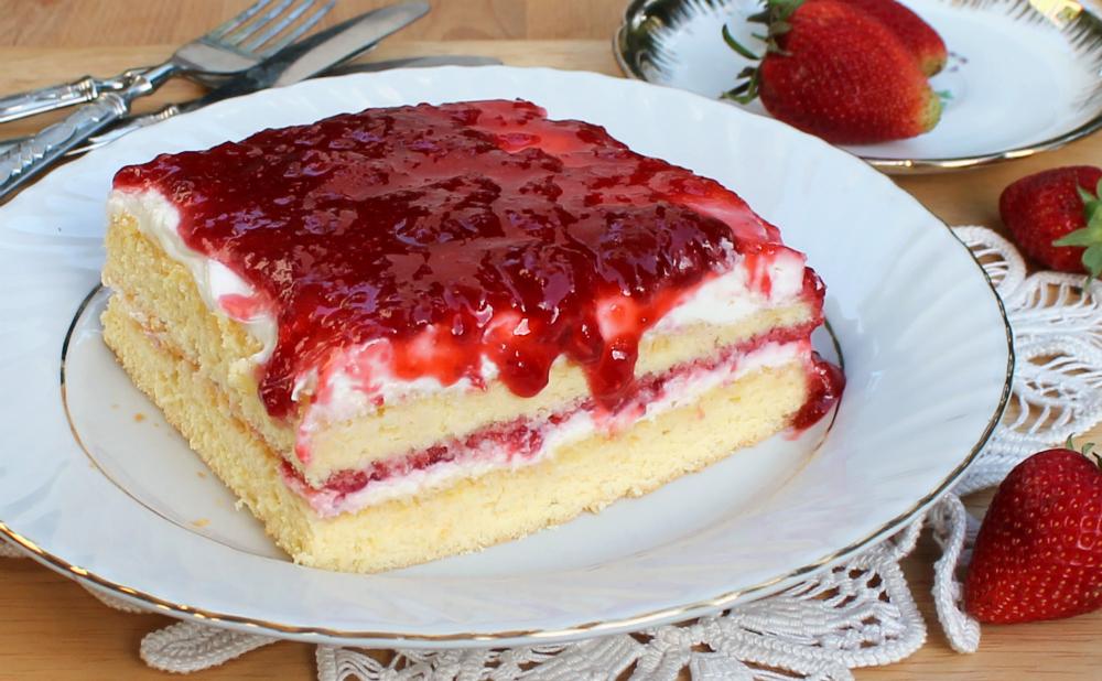 """RICETTA CHEESECAKE FRAGOLE torta fredda """"boccuccia di rosa"""""""