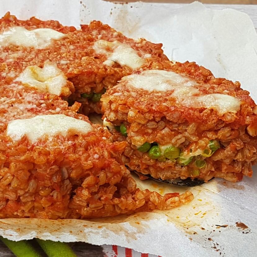 FARRO AL FORNO SFORMATO SAPORITI ricetta torta rustica
