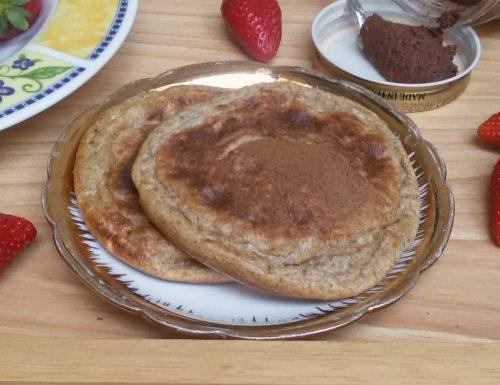 WEETABIX PANCAKES ricetta pancakes solo albumi