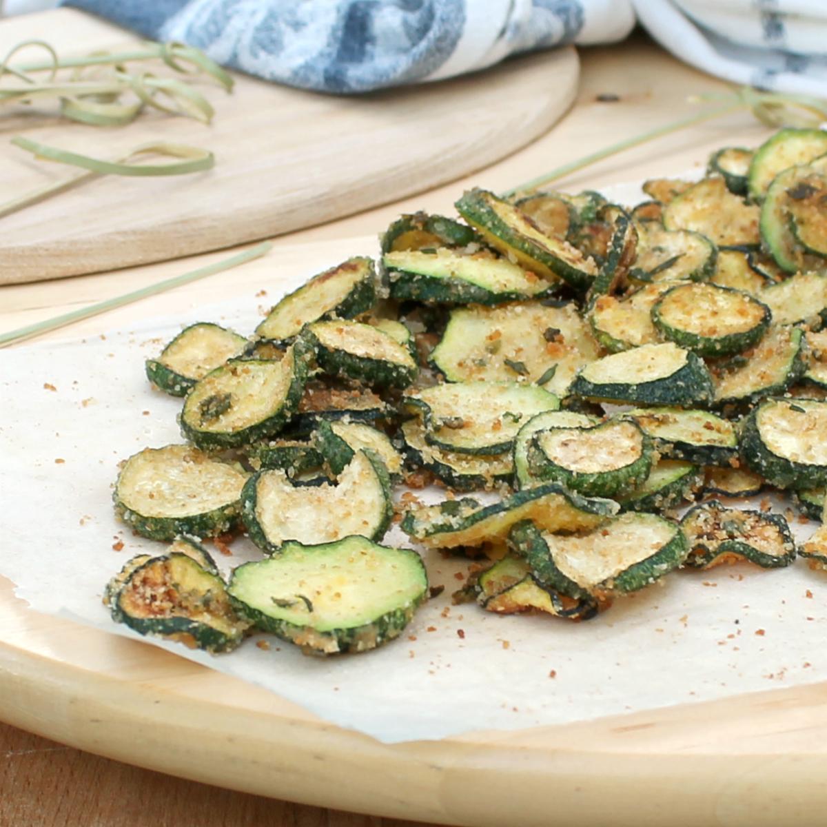 ZUCCHINE AL FORNO SABBIOSE zucchine gratinate super croccanti