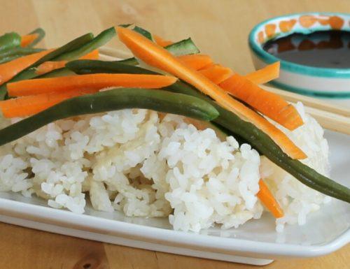 CHIRASHI SUSHI ricetta tipica cucina giapponese