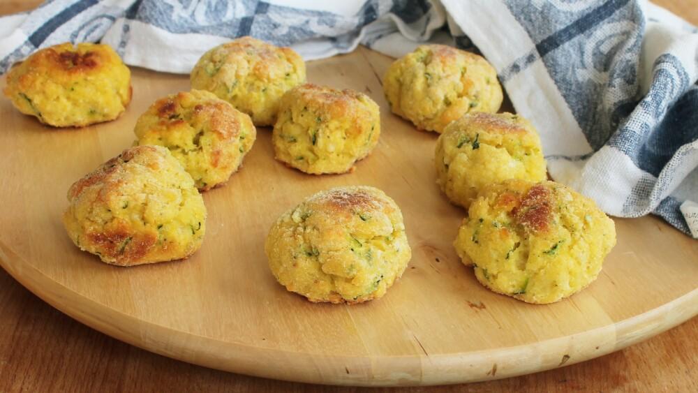 Crocchette di Zucchine Speck e Gamberetti Ricetta Veloce