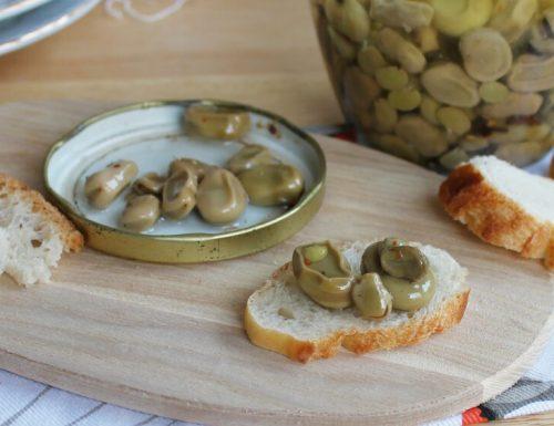 FAVE ALL'ACETO SOTT'OLIO conserva di fave aromatica e profumata