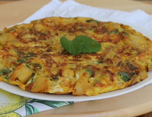 TORTILLA DI PATATE ricetta frittata di patate tipica spagnola