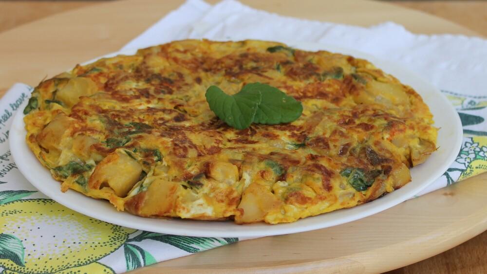 Ricetta Tortilla Spagnola Giallo Zafferano.Tortilla Di Patate Ricetta Frittata Di Patate Tipica Spagnola