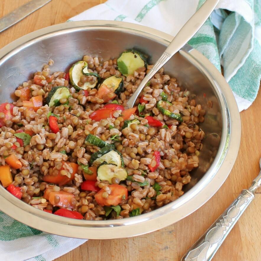 Primi piatti estivi velocissimi insalate pasta riso e cereali for Ricette leggere
