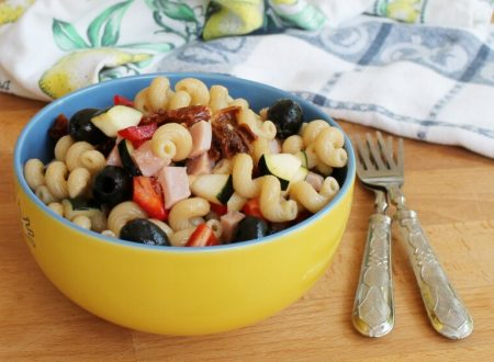 PASTA FREDDA SENZA MAIONESE ricetta insalata di pasta fredda