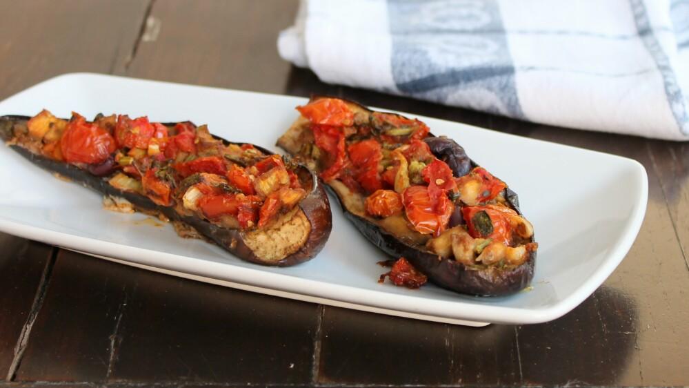 melanzane ripiene al forno ricetta melanzane a barchetta