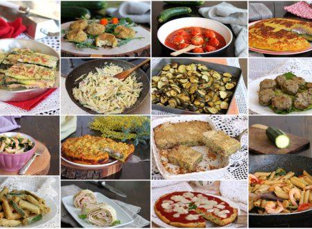 RICETTE CON ZUCCHINE le migliori ricette con le zucchine