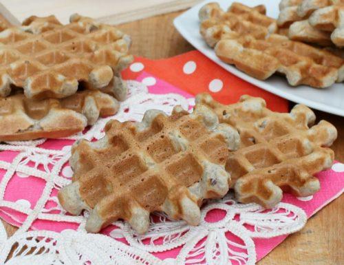 RICETTA WAFFEL SENZA BURRO ricetta base waffel dolci e salati