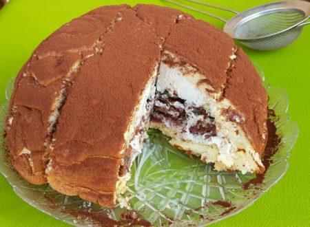 ZUCCOTTO GELATO CON NUTELLA ricetta torta gelato facile