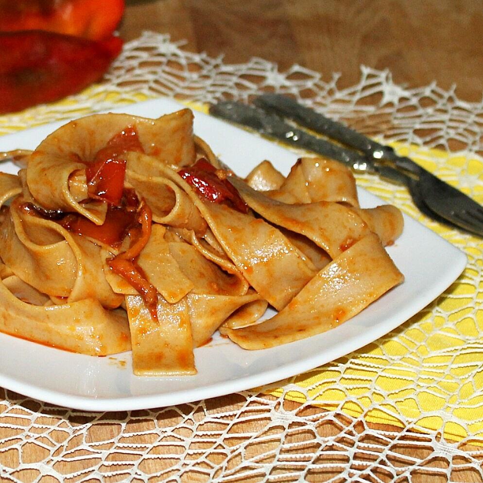 NDUJA CALABRESE ricetta veloce pasta con nduja e peperoni