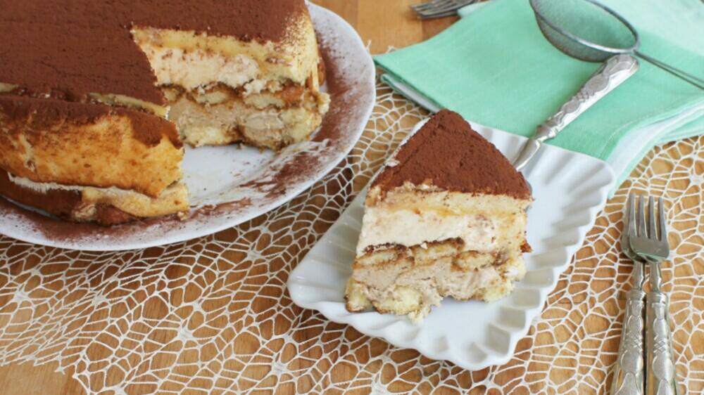 CREMA MOKA AL TIRAMISU ricetta torta crema tiramisù caffè savoiardi
