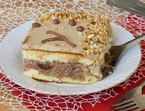 TORTA NUTELLA E CAFFE' ricetta torta compleanno
