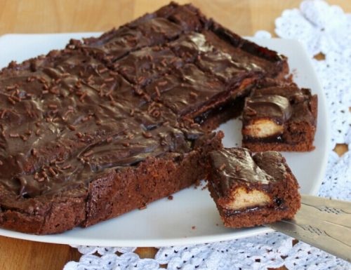 CROSTATA OSE' ricetta con savoiardi marmellata e cioccolato