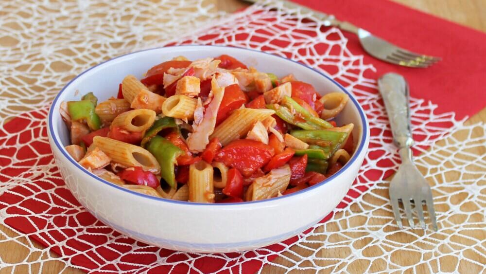 INSALATONA ESTIVA DI PASTA ricetta insalata fredda con verdure