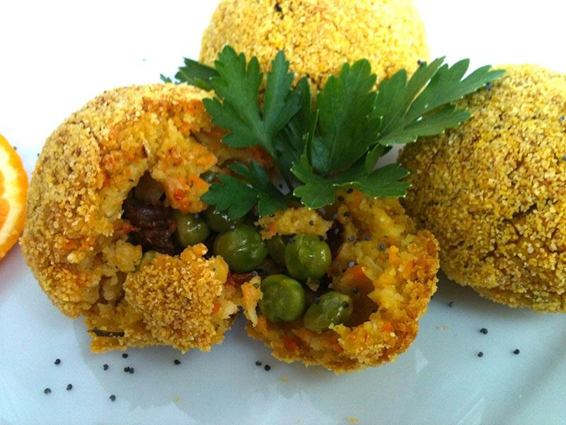 Ricette Vegetariane Quinoa.Arancini Vegan Di Quinoa Ricetta Vegan Facile