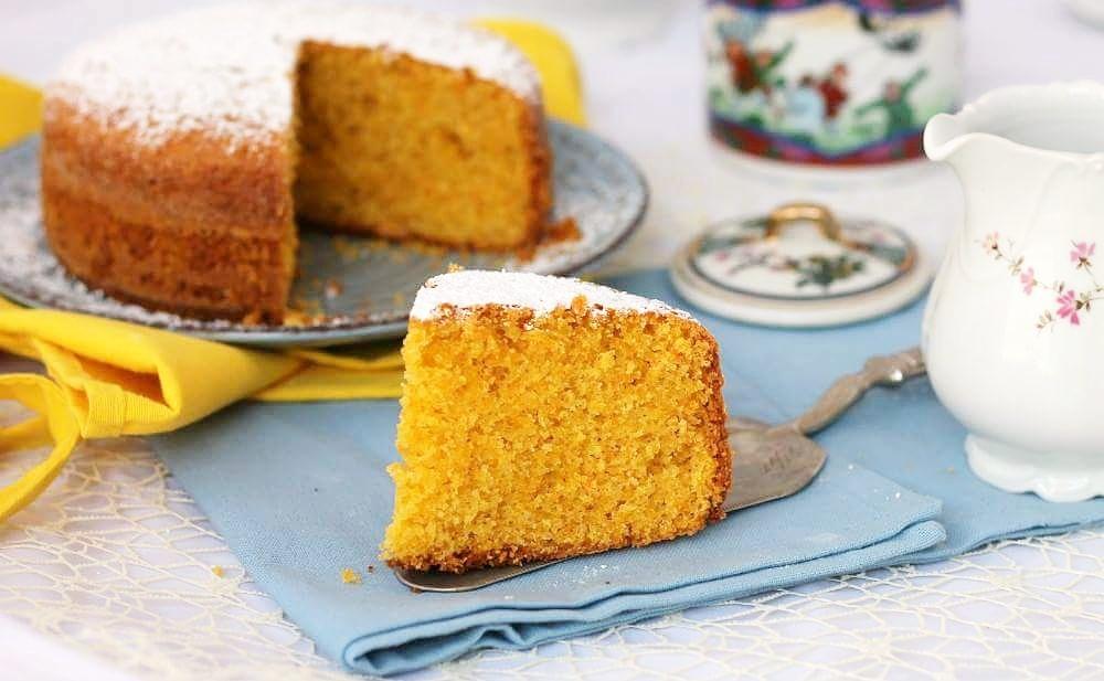 Torta Carote Mandorle Arancia