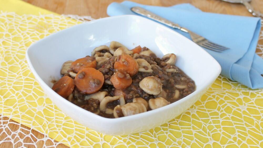 PASTA E LENTICCHIE | ricetta senza soffritto | zuppa di lenticchie e pasta