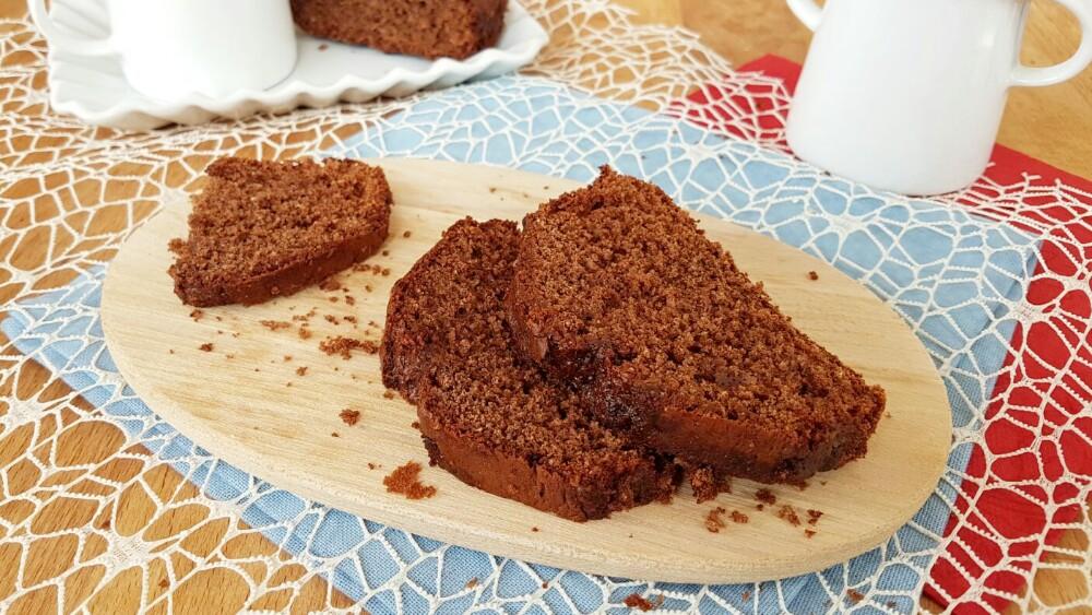 PLUMCAKE CACAO E CANNELLA plum cake morbidissimo senza burro