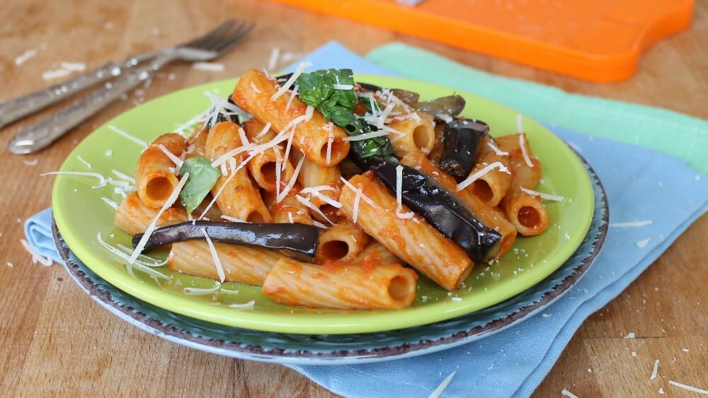 PASTA ALLA NORMA | ricetta originale | primo piatto melanzane