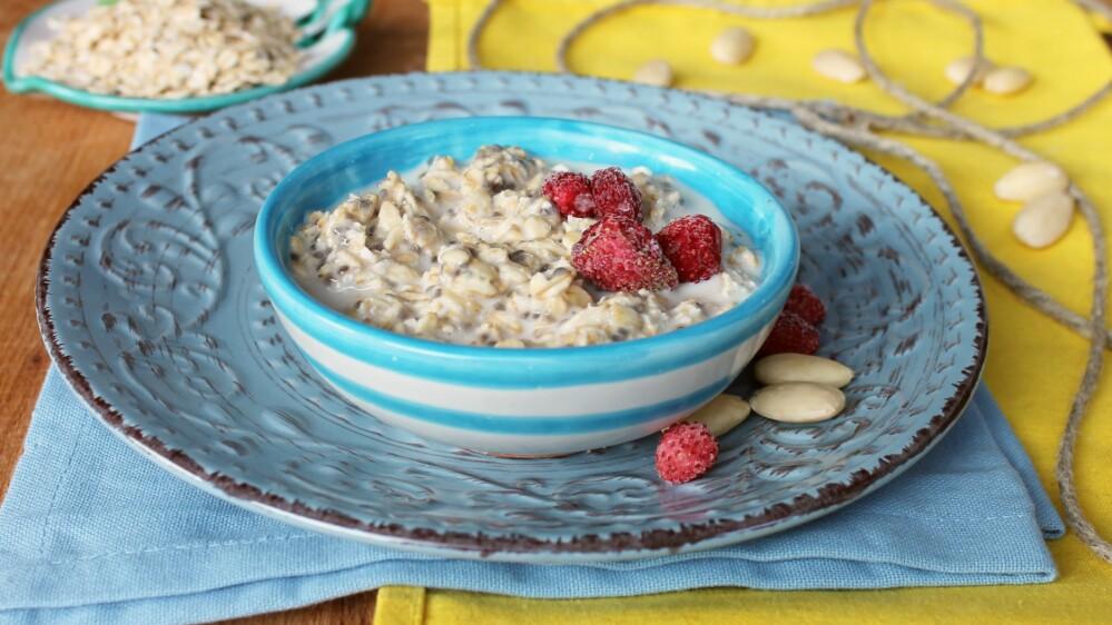 ZUPPA DI AVENA DOLCE | colazione anti fame saziante | colazione furba