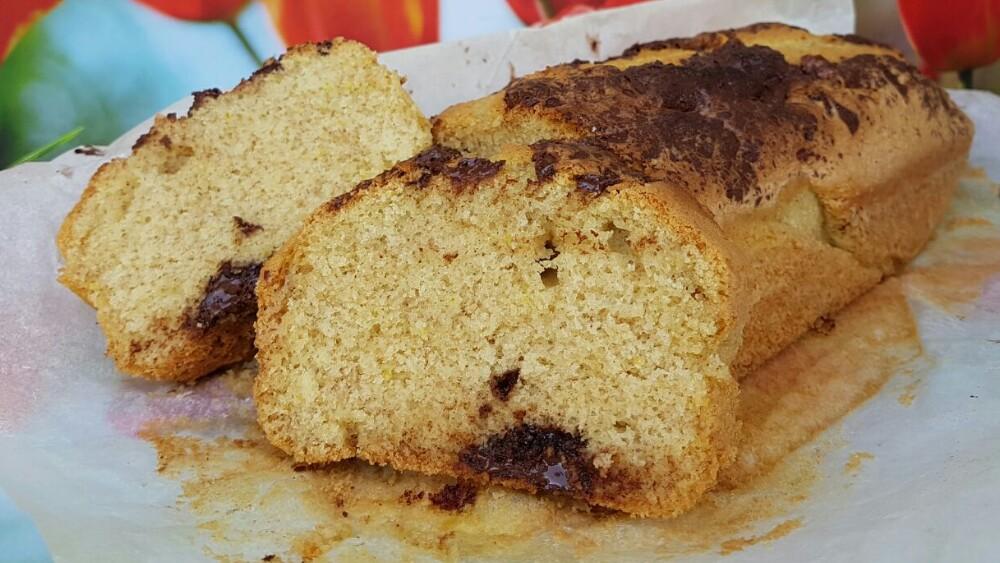 PLUMCAKE CON FARINA INTEGRALE | torta morbida limone cioccolato