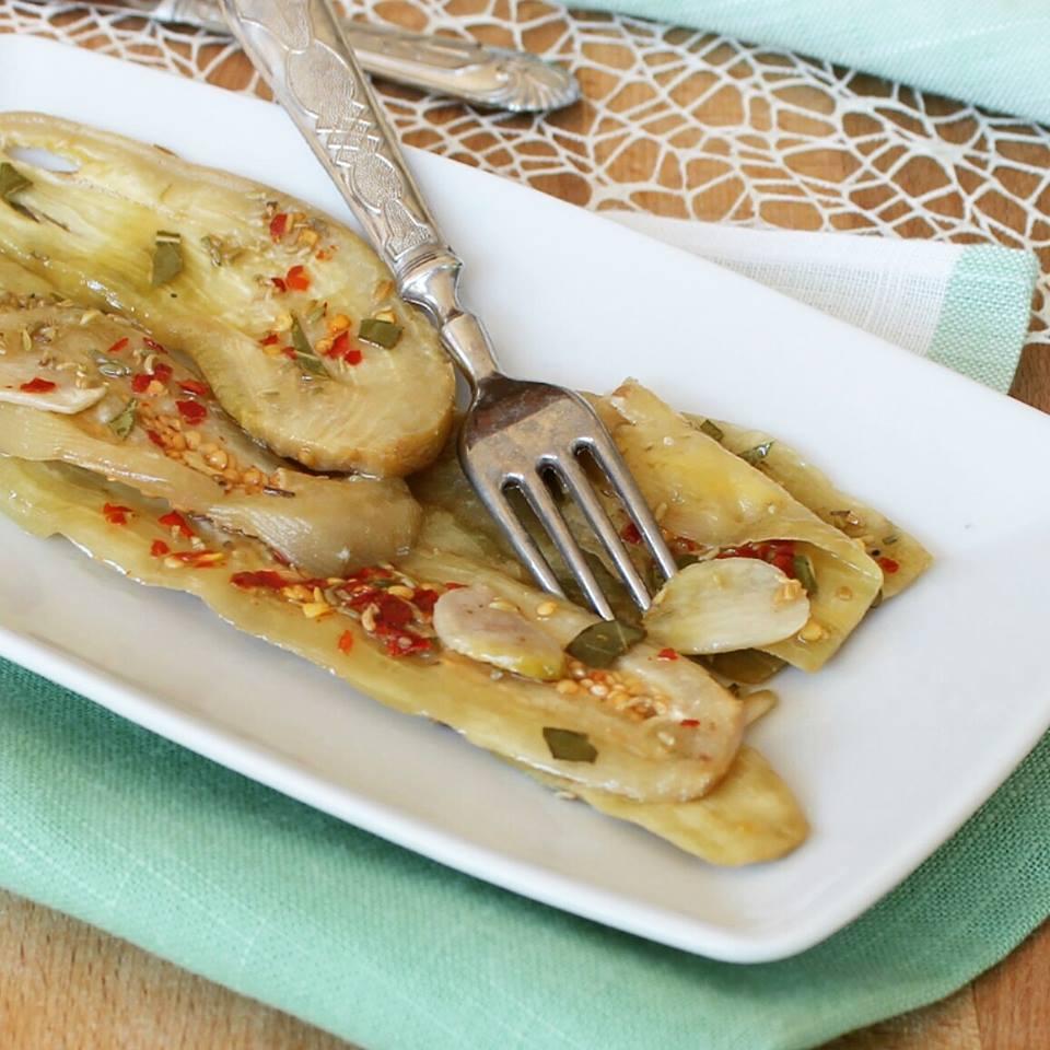 MELANZANE SOTT OLIO ricetta conserva di melanzane