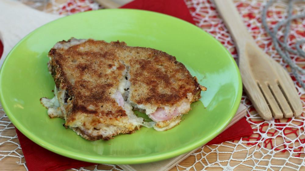 PANE IN CARROZZA FILANTE | fritto oppure al forno | ricetta salva cena