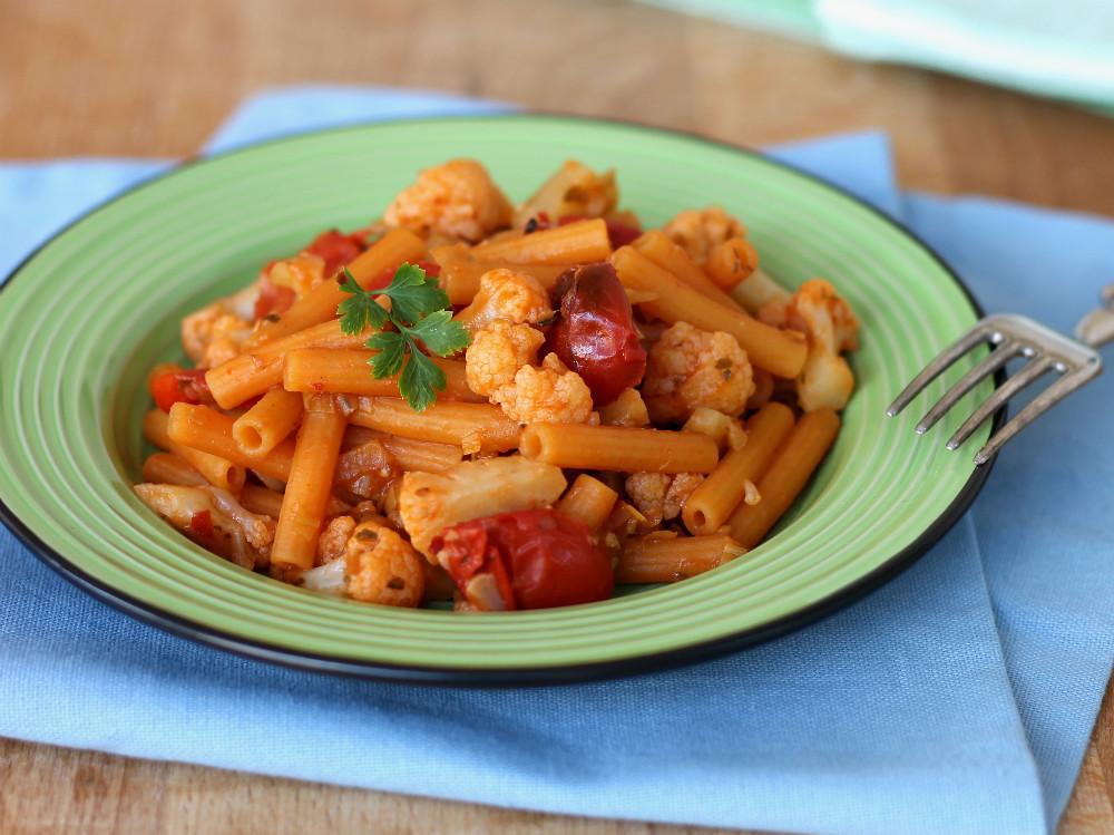 PASTA E CAVOLFIORE | ricetta pasta col cavolo | primo facile e veloce