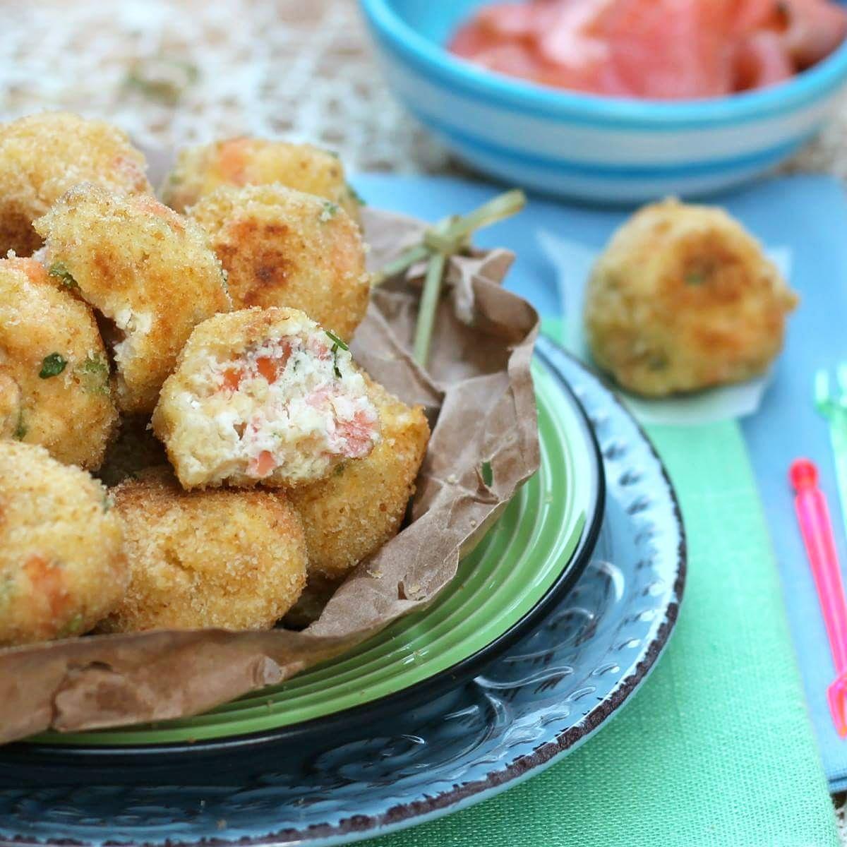 POLPETTE DI SALMONE | polpette con pesce ricetta veloce
