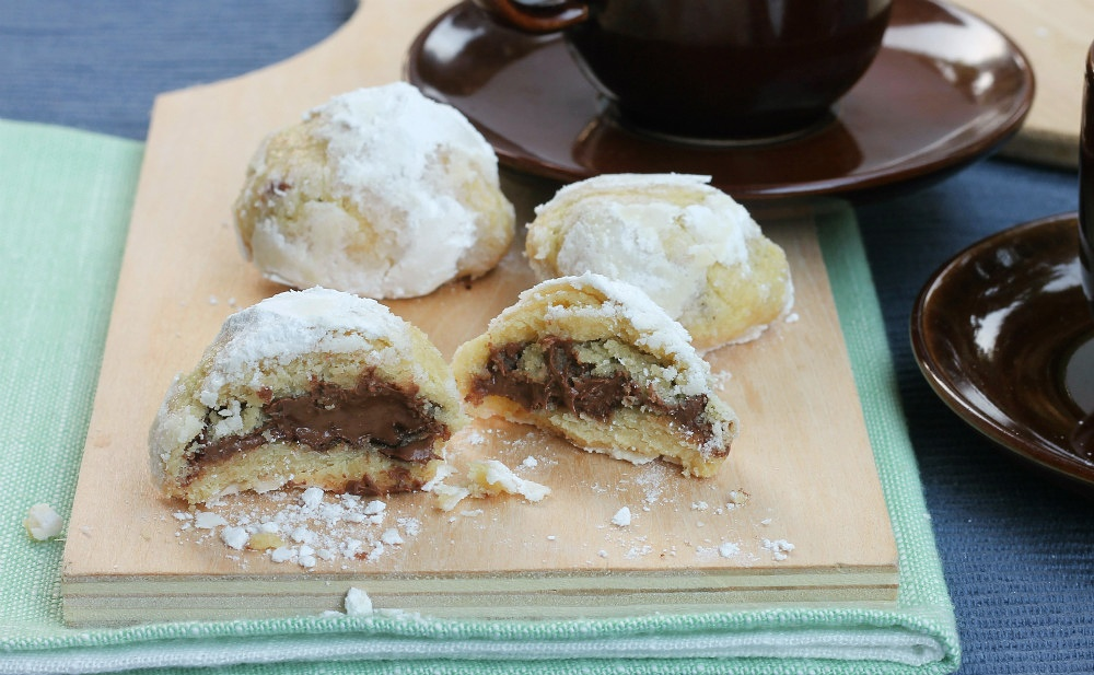 BISCOTTI RIPIENI DI NUTELLA ricetta biscotti con nutella