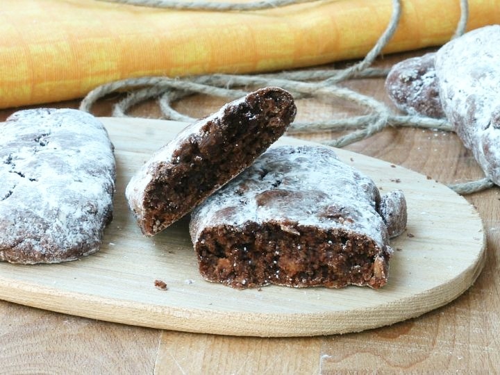 PAN DEI MORTI | ricetta originale dolce tipico milanese | biscotti morbidi