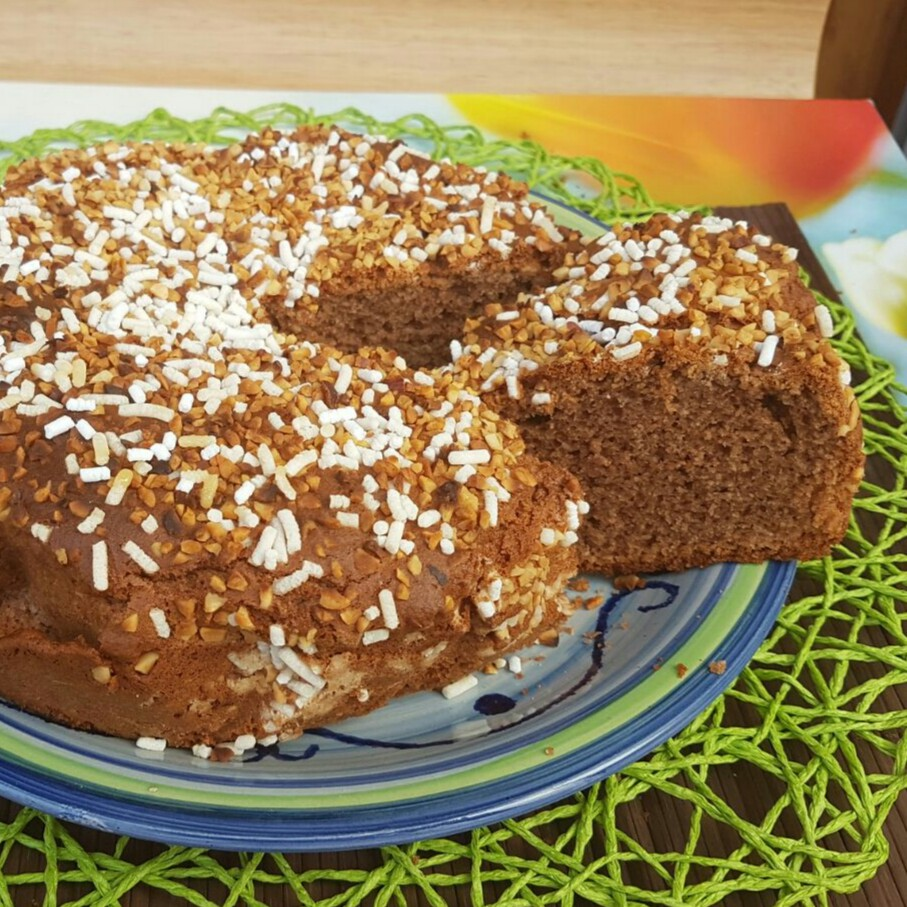 Ricetta di torta con nell'impasto la nutella