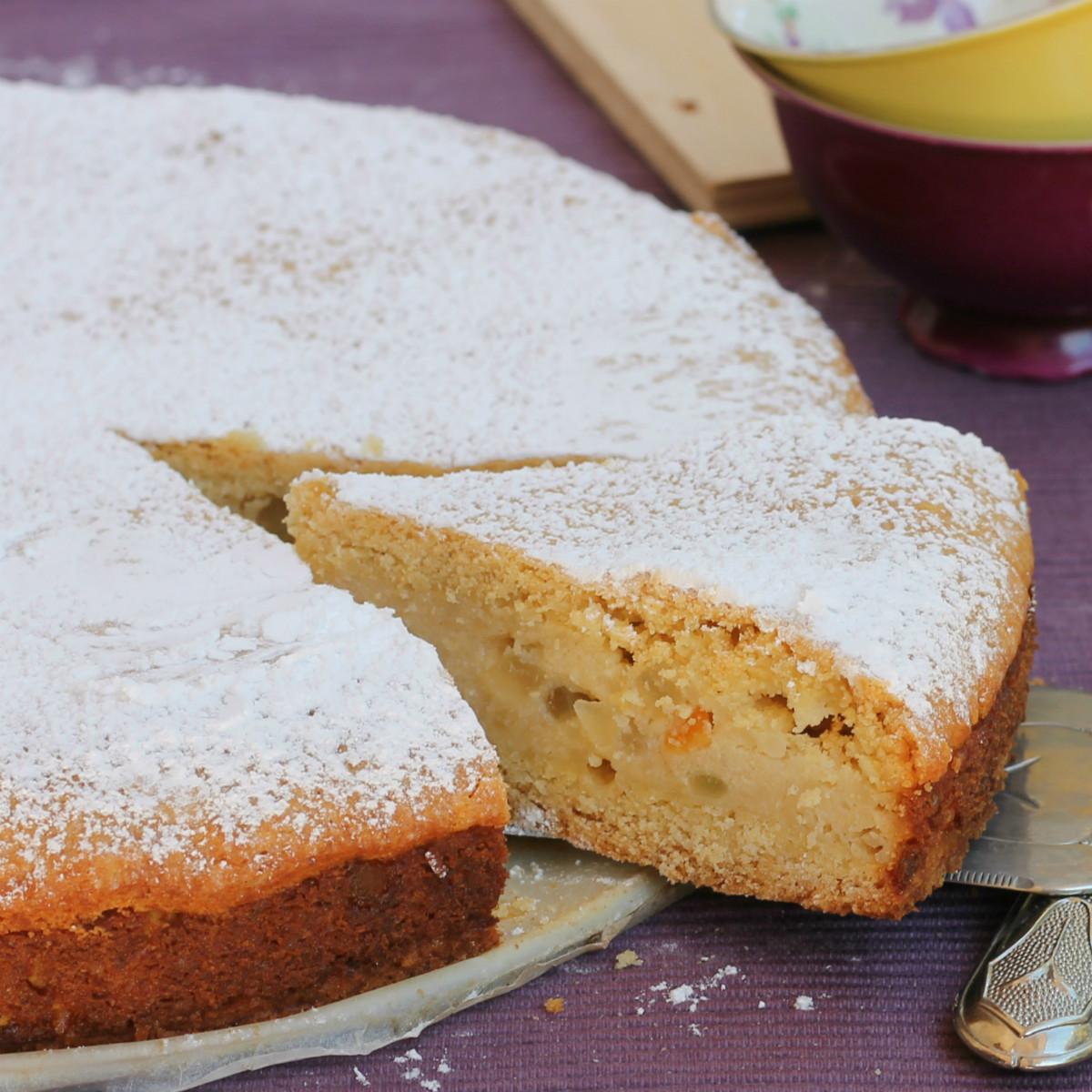 SFOGLIATELLA NAPOLETANA ricetta torta come sfogliatelle frolle
