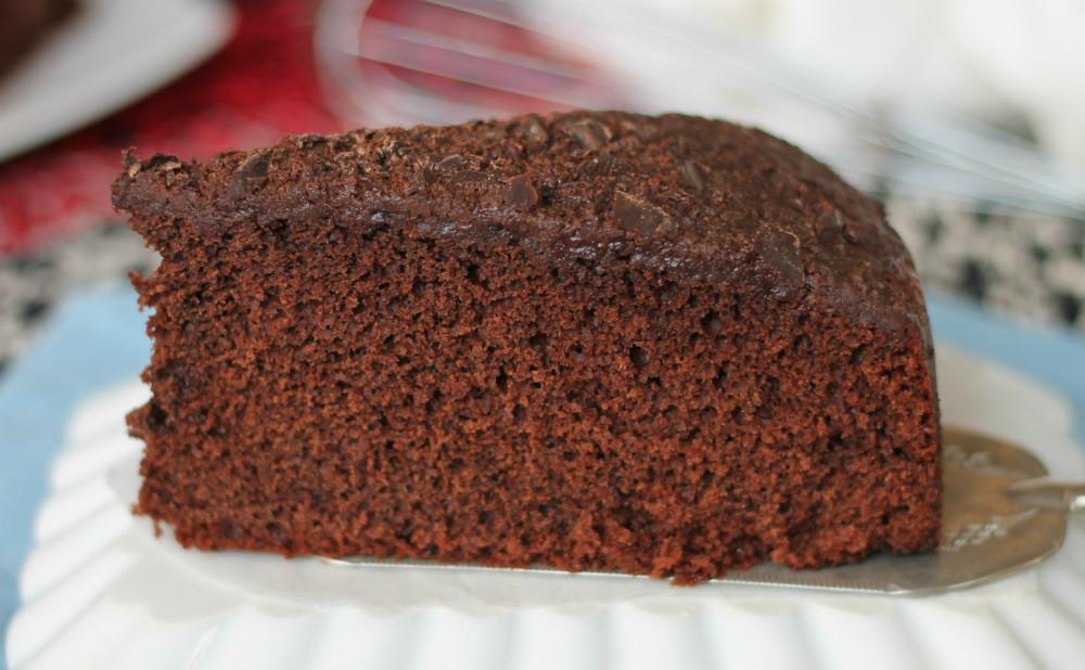Torta Vino Rosso e Cioccolato Senza Latte e Burro
