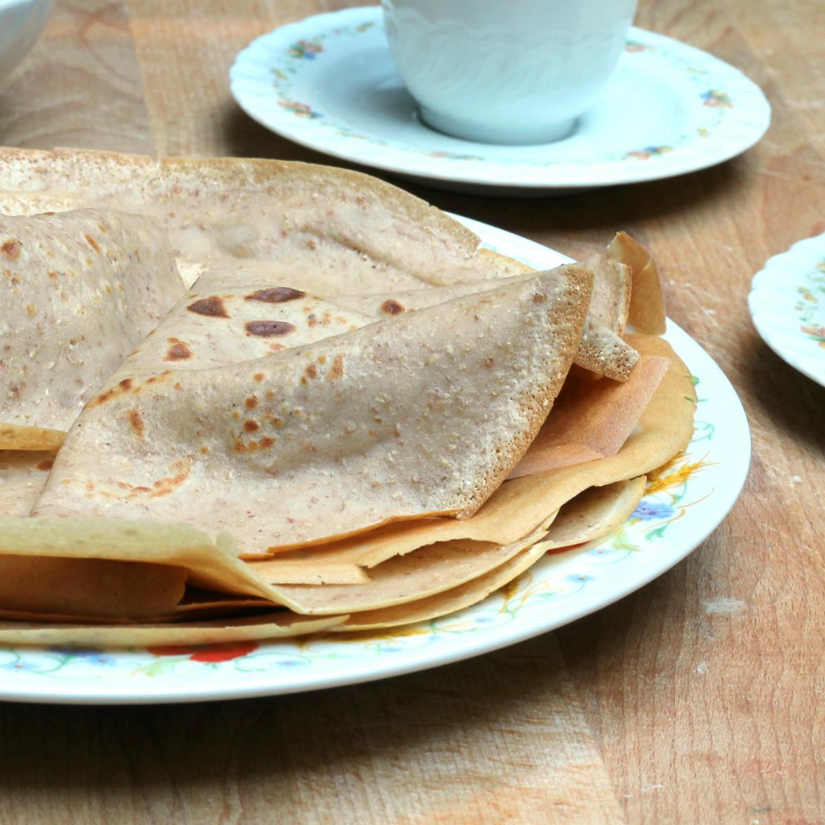 CREPES CON FARINA DI CASTAGNE ricetta crepe alle castagne