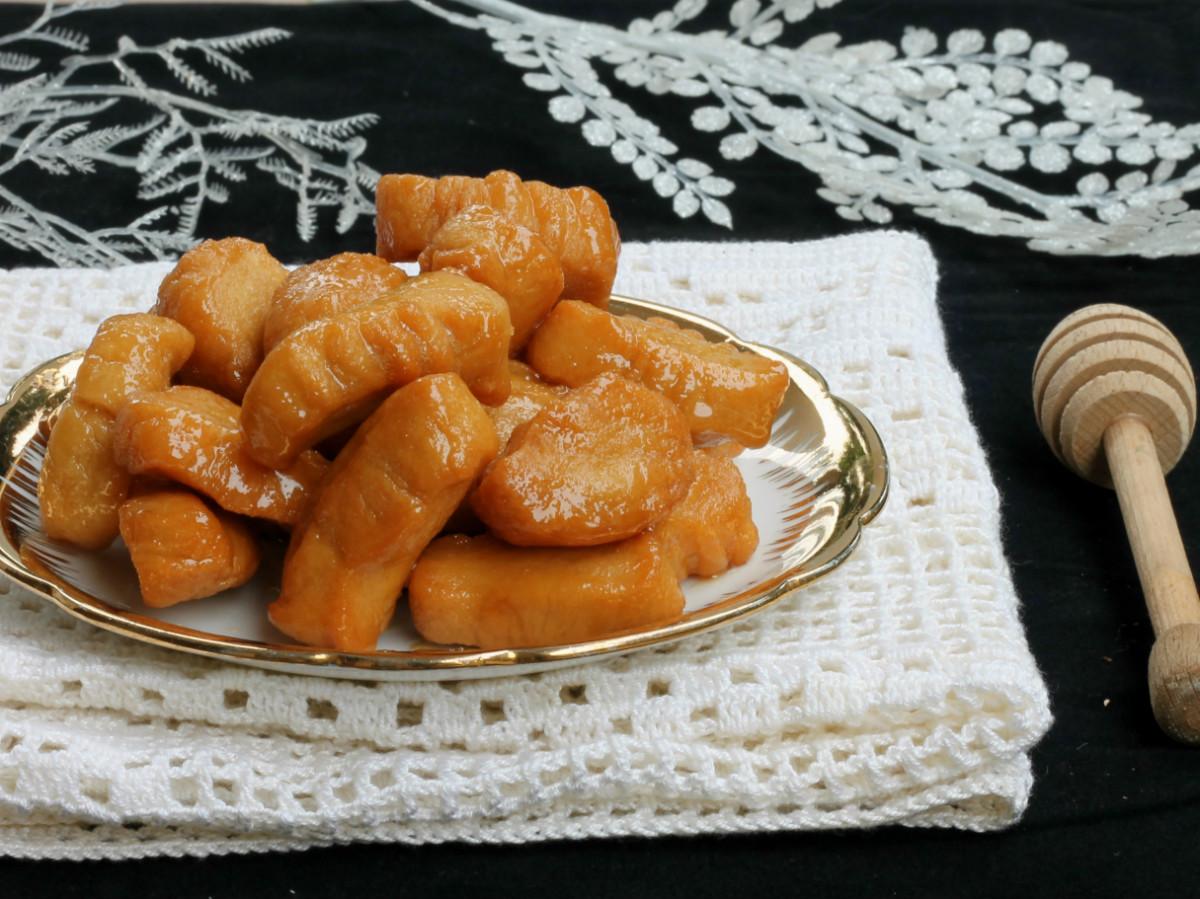 TURDILLI CALABRESI | ricetta dolci calabresi natalizi | dolci fritti