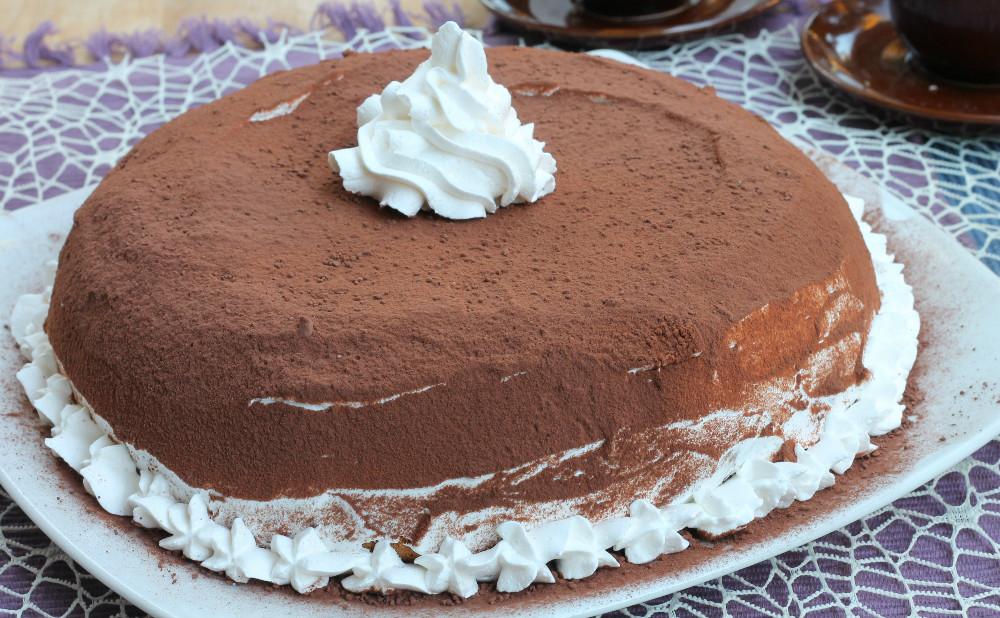 ZUCCOTTO CON PANDORO ricetta veloce con mascarpone nutella