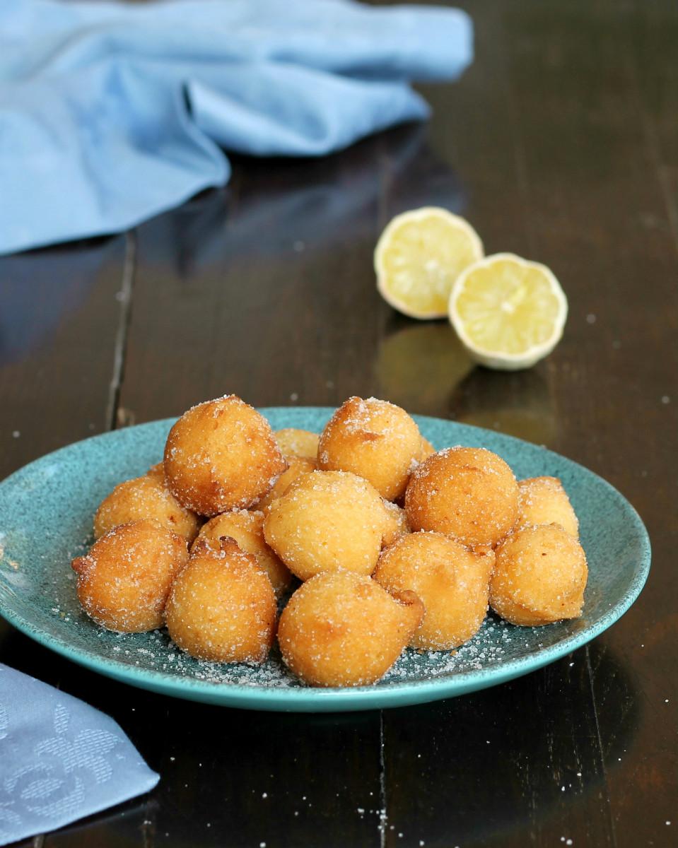 castagnole al limone