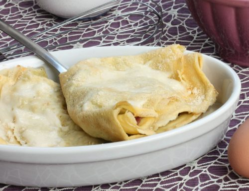 CREPES AL FORNO GRATINATE