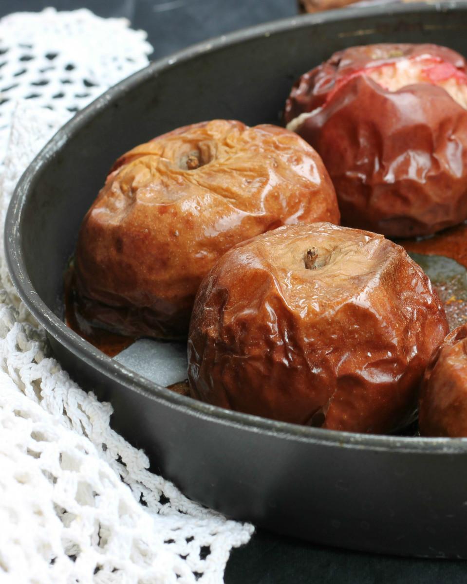 MELE ANNURCHE AL FORNO ricetta mele cotte al naturale