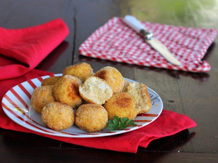 POLPETTE DI BACCALà | ricetta polpette con baccalà al forno o in padella