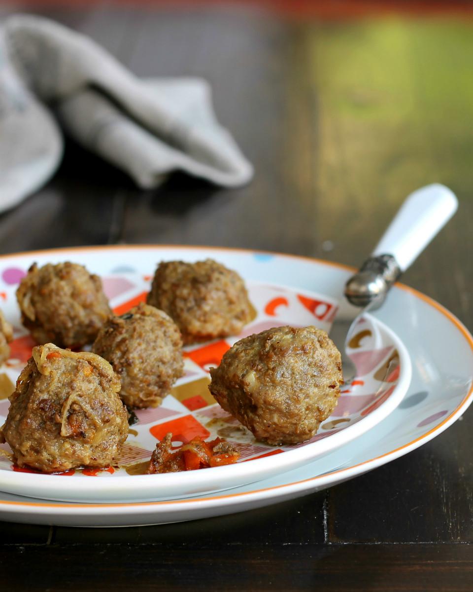 POLPETTE IN UMIDO AL MANDARINO secondo piatto pronto in 30 minuti