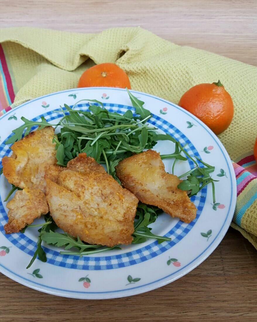PETTO DI POLLO AL MANDARINO ricetta secondo facile pronta in 10 minuti