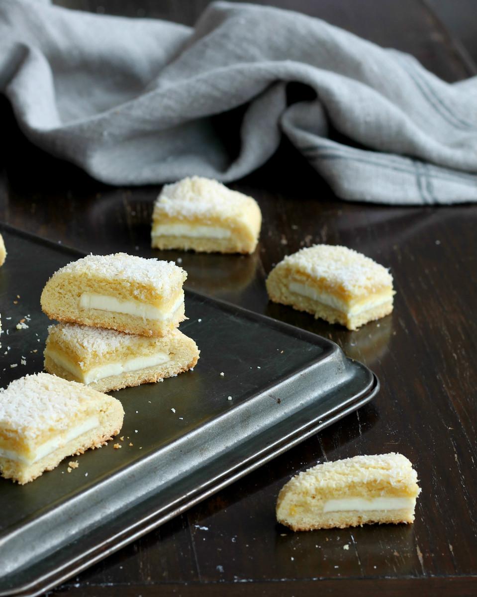 Biscotti Cioccolato Bianco Cocco Limone